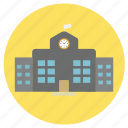 building, education, office, school icon