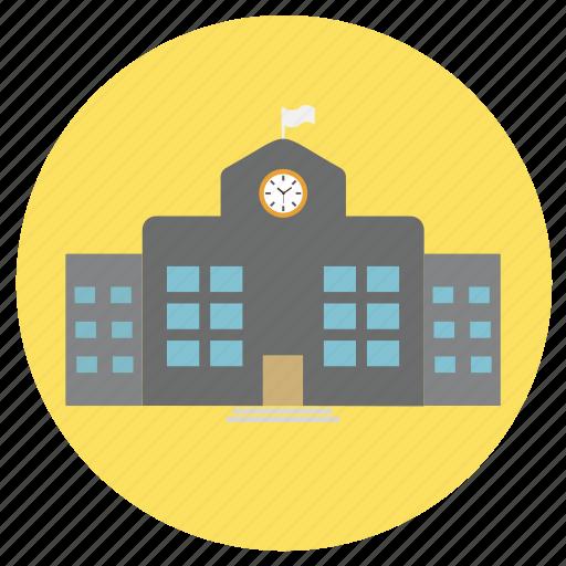 building, education, office, school icon