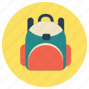 bag, education, school icon