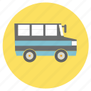 bus, education, school, travel, van icon