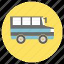 bus, education, school, travel, van icon