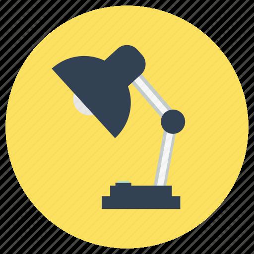 education, lamp, study icon
