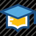 awarded cap, commencement, degree cap, graduate cap, mortarboard