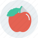 apple, fruit, healthy diet, nutrition, organic icon