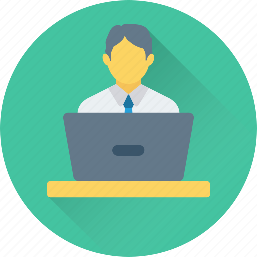 freelancer, lecture, male, presentation, public speaker icon