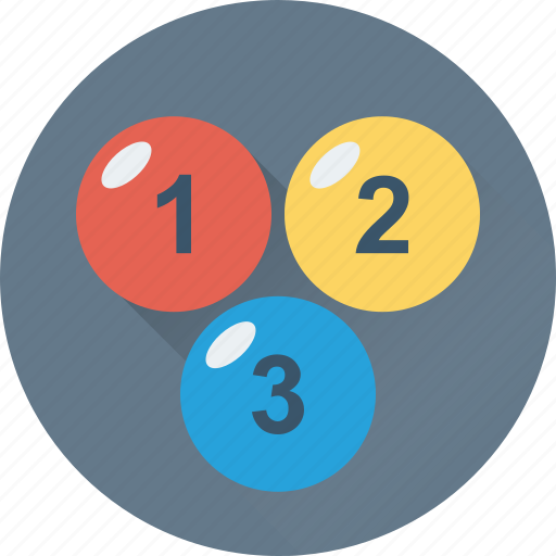 123, counting, digits, early learning, numbers icon