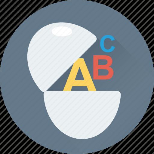 abc, alphabet blocks, alphabets, primary, study icon