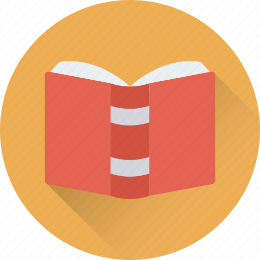 book, diary, knowledge, reading, study icon