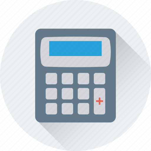 accounting, calculating device, calculator, math, office supplies icon