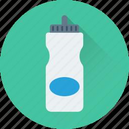 bottle, drink bottle, sports bottle, water, water bottle icon