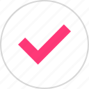 approved, check, mark, ok icon