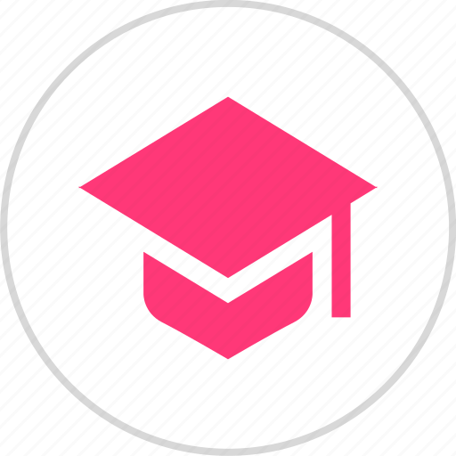 cap, grduation, learning icon