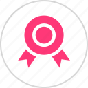 award, honor, ribbon icon