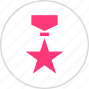 award, honor, medal, star icon