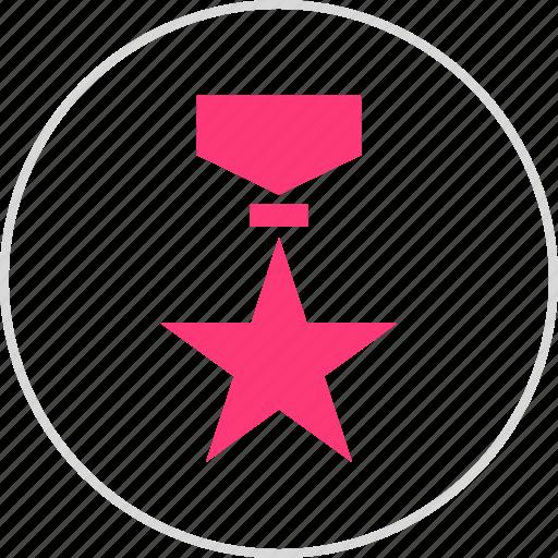award, honor, medal, star icon