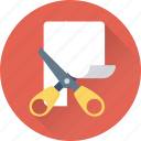 cutting, cutting tool, expired, paper cut, scissor icon