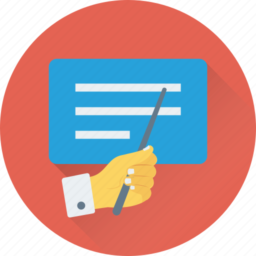 meeting, presentation, seminar, training, workshop icon