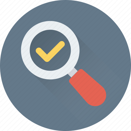 magnifier, magnifying glass, searching, searching glass, success icon