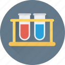 culture tubes, lab, lab test, sample tubes, test tubes icon
