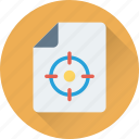 file target, focus, marketing, selector, target icon