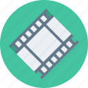 media, media player, multimedia, player, reel icon