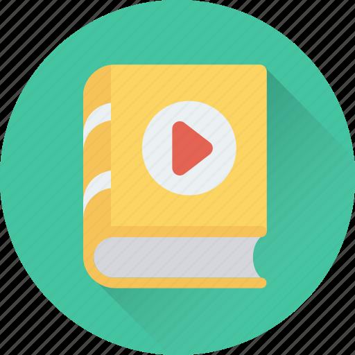 audio literature, audiobook, ebook, education, music book icon