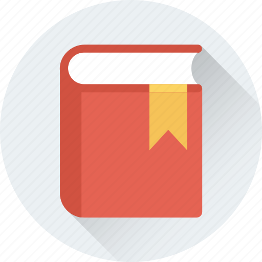 book, bookmark, diary, diary book, notebook icon