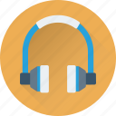 audio, earphone, headphone, music, sound icon