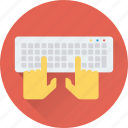 computer keyboard, device, input device, keyboard, typing icon