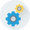 cogs, cogwheel, gear, gear wheel, setting icon