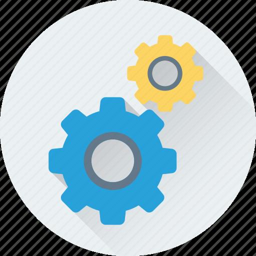 cogs, cogwheel, gear, gear wheel, setting icon