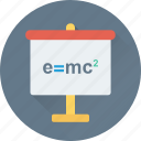 einstein formula, emc2 formula, physics formula, scientific formula, theory of relativity icon