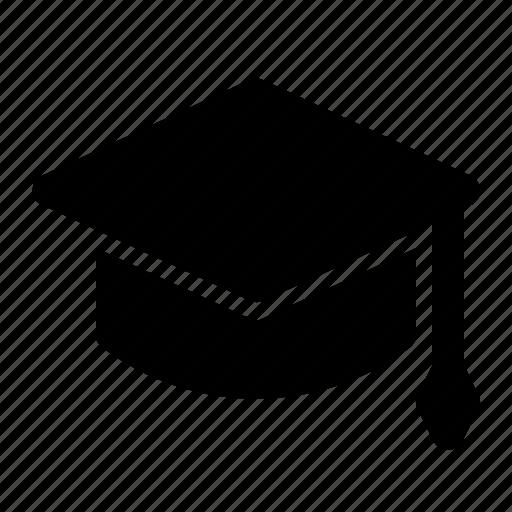 cap, diploma, education, graduation, hat, school, study icon