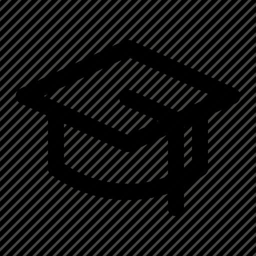 cap, diploma, education, graduation, hat, school, university icon
