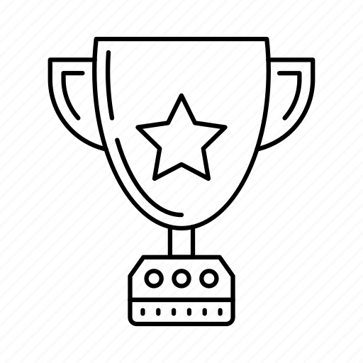 achievement, award, badge, medal, trophy icon