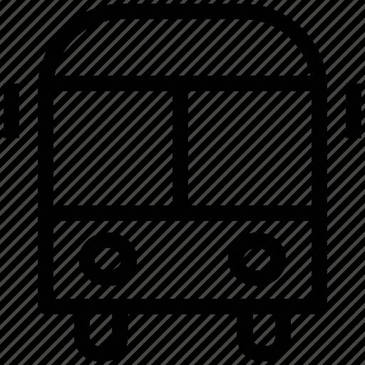 auto van, camper, house van, mini bus, school van, transport van icon