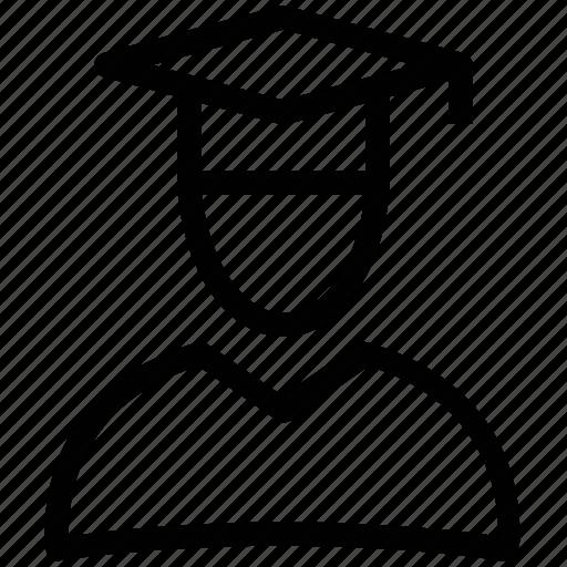 academic mortar board, award, awarded cap, commencement, degree cap, graduate cap, mortarboard icon