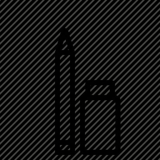 drawing, erase, eraser, pencile, sketch, tool icon