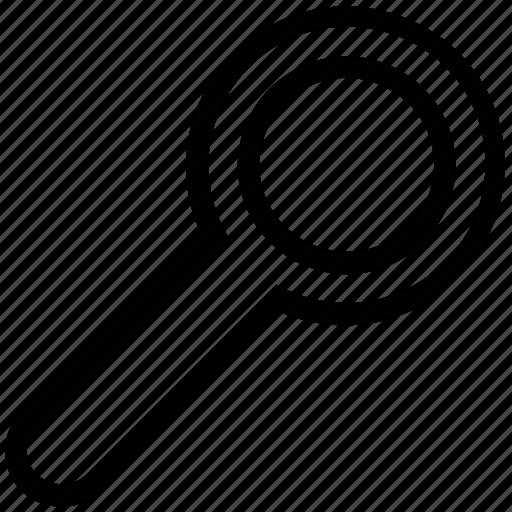 creative, decrease, glass, grid, magnifier, search icon