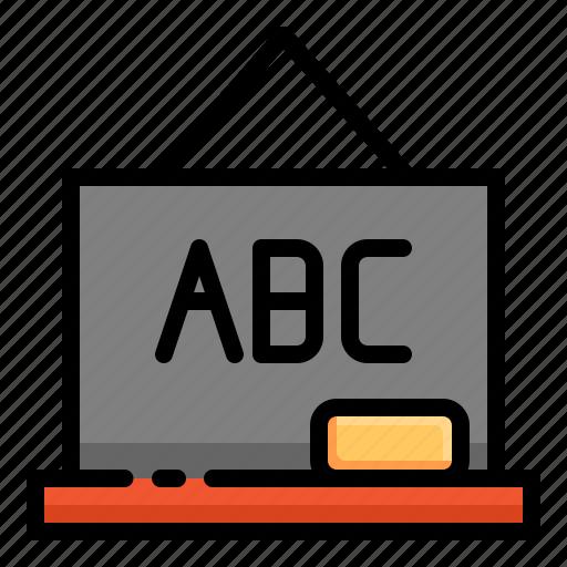 Blackboard Icon | Line Iconset | IconsMind
