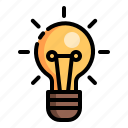 bulb, education, knowledge, learn, school, student, study icon