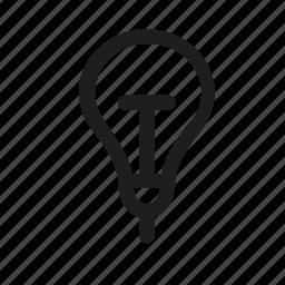 idea, lamp, light, lightning icon