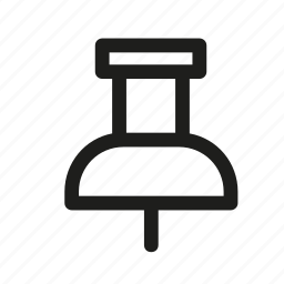 needle, pin, point, text, tool icon