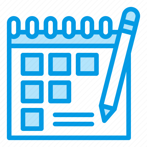 appointment, calender, manage, schedule, school icon