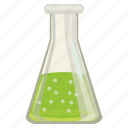 cartoon, chemical, chemistry, equipment, experiment, medical, medicine icon