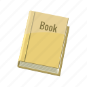 book, bookmark, cartoon, close, page, paper, space icon