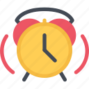 alarm, clock, lecture, school, student, study, university icon