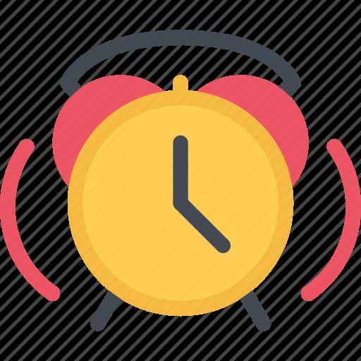 alarm, clock, lecture, school, student, study, university icon
