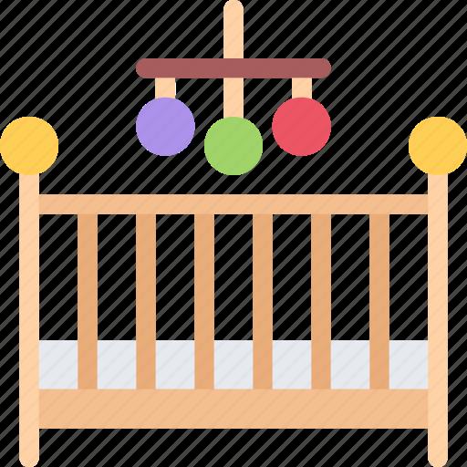 baby, child, childhood, crib, kid icon