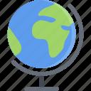 globe, lecture, school, student, study, university icon